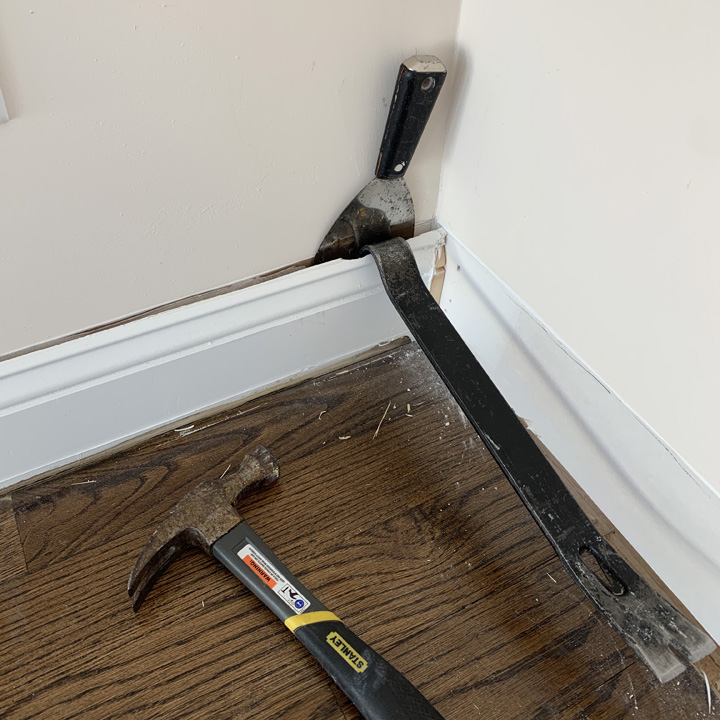 Removing Trim Without Damaging Drywall